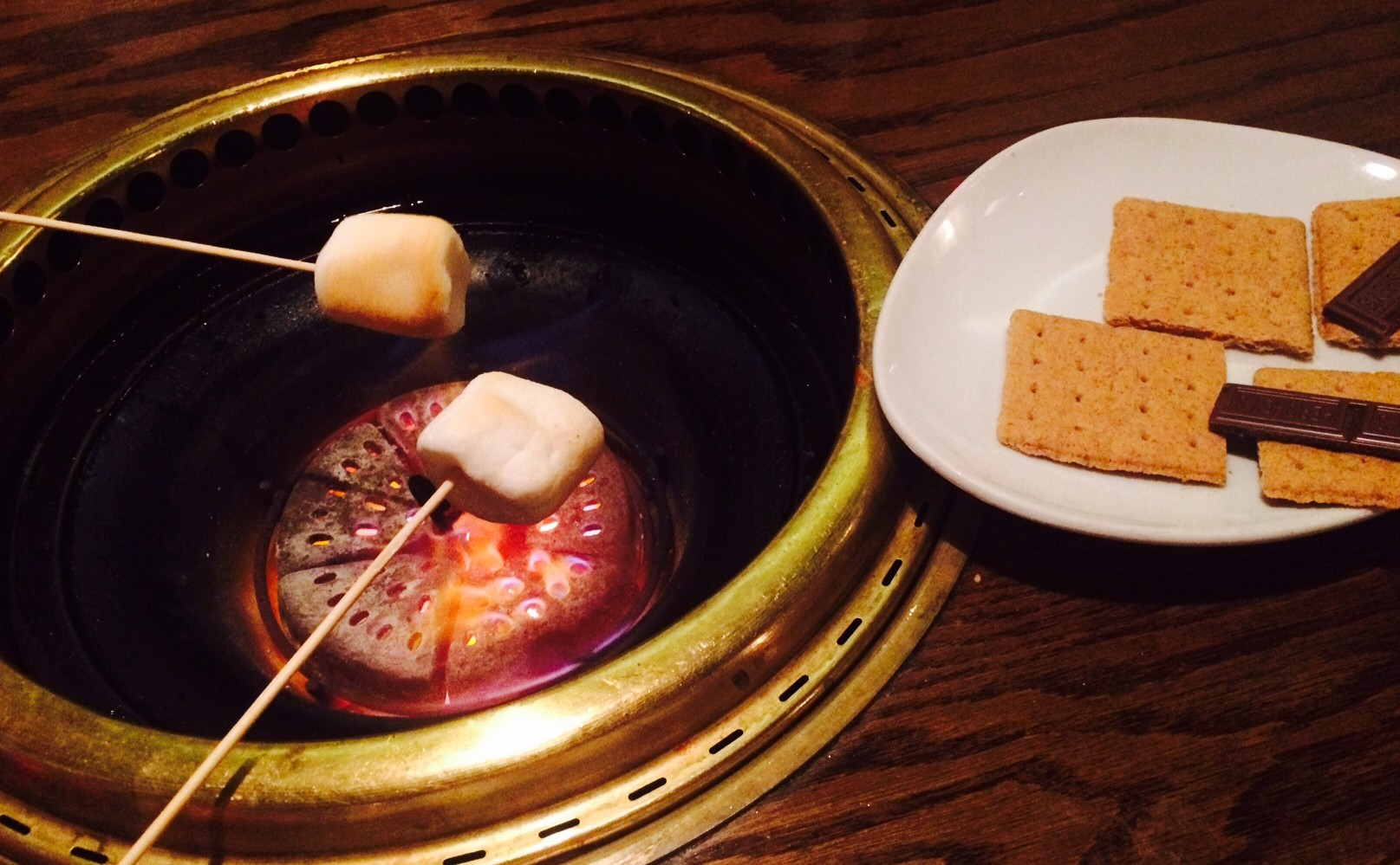 gyu-kaku-japanese-houston-marshmallow-dessert