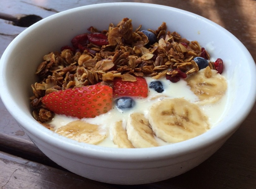 Granola breakfast at Onion Creek in Greater Heights Houston