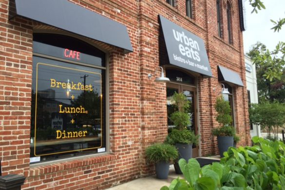 Urban Eats restaurant Washington Avenue Houston