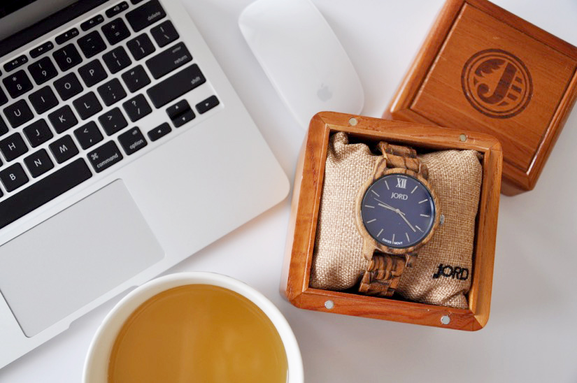 JORD wooden watch women in a beautiful box