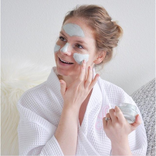 This week has made me time for some pureclaymask pamperinghellip