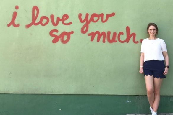 I love you so much - mural on South Congress Ave Austin