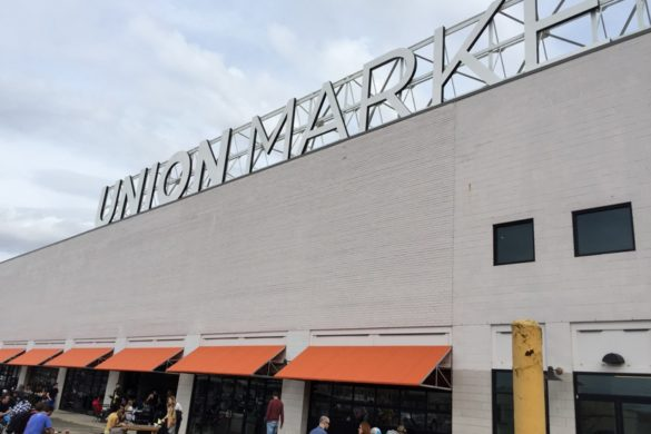 Visit Washington D.C. Union Market almost 50 vendors and pop-up shops under one roof offering freshly prepared food and drinks