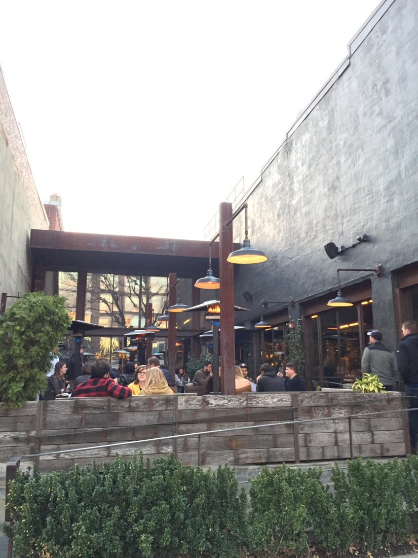 Barcelona Wine Bar: amazing patio, tapas, and wine in Washington D.C.